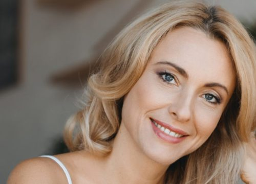 Woman with great skin after BOTOX® Cosmetic treatments